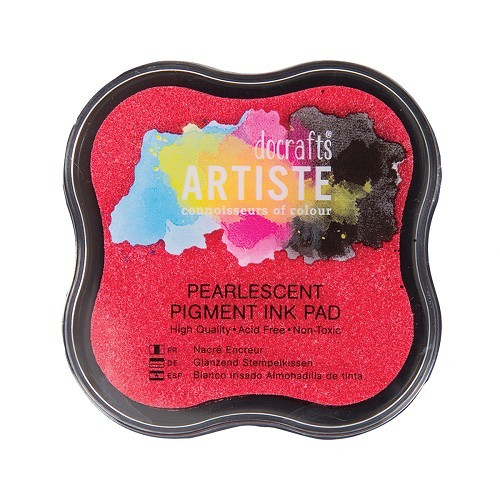 Pigment Ink Pad - Pearlescent Soft Pink