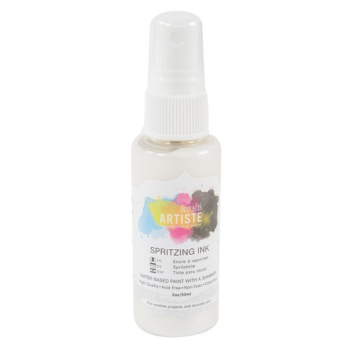 Spritzing Ink 2oz - White