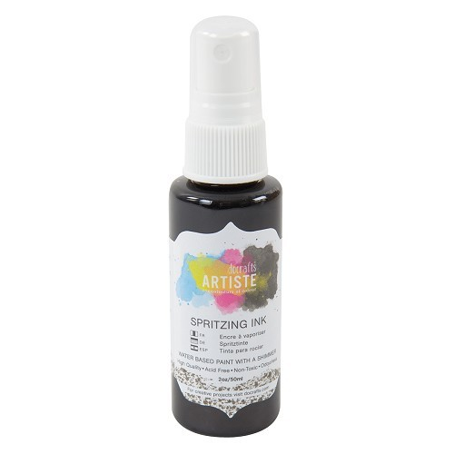 Spritzing Ink 2oz - Gold Stone