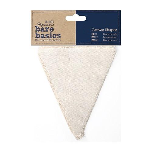 Canvas Shape (6pk) - Bare Basics - Flags