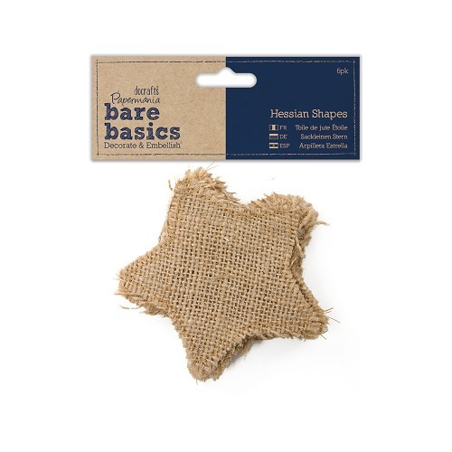 Hessian Shape (6pk) - Bare Basics