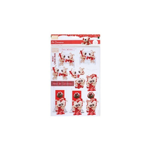 A4 Decoupage (2pk) - Boofle? - (Home for Christmas)