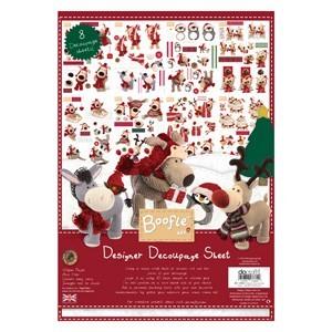Designer Decoupage Sheet - Boofle? (8 Sheets)