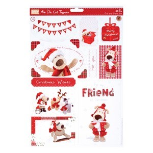 A4 Die-Cut Toppers - Boofle? (2pk) - (Let it Snow)