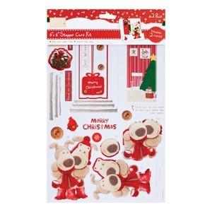 6x6 Stepper Cards & Envelopes (2pk) - Home for Christmas