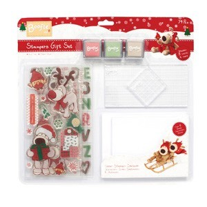 Stampers Gift Set (Clear Stamp, Ink & Card Kit)