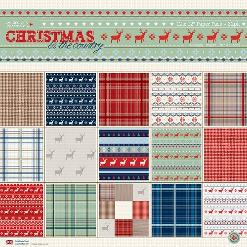 12 x 12 Paper Pack (32pk) - Christmas in the Country