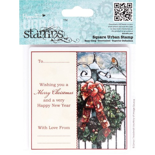 Square Urban Stamp - Christmas Tidings (Welcome Home)