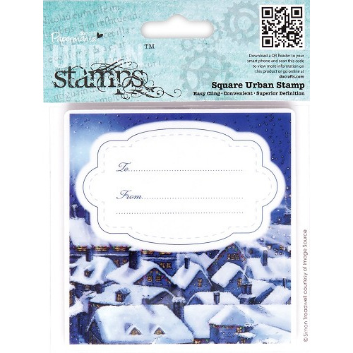 Square Urban Stamp - Christmas Tidings (Silent Night)