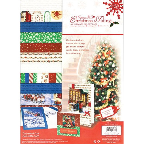 A4 Ultimate Decoupage Pack - Christmas Tidings