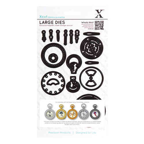 Dies (21pcs) - Chronology - Pocket Watch (Large)