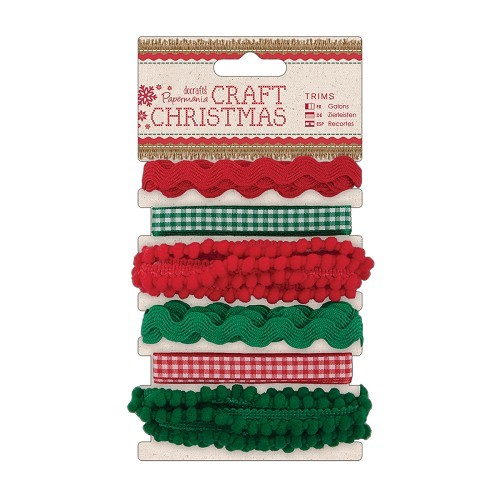 1m Trims (6pcs) - Craft Christmas