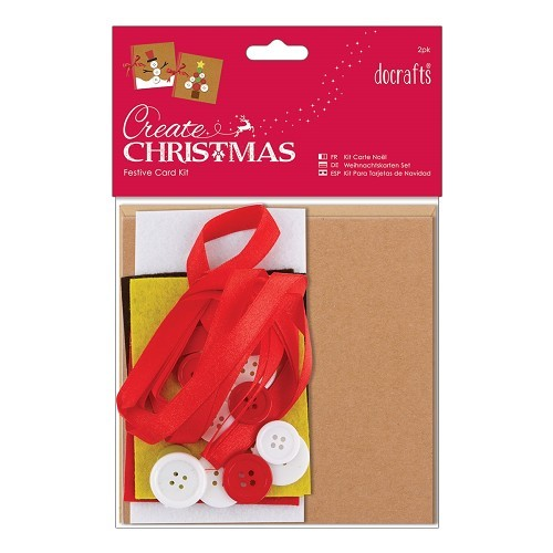 Christmas Card Kit (2pk)