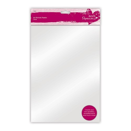 A4 Shrink Plastic (10pk) - Clear
