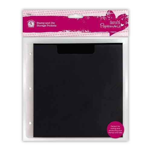 Stamp & Die Storage Pockets with Magnetic Shim (10pk)