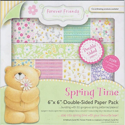 15x15 cm Paperpack Forever Friends FFS1602204 Spring time