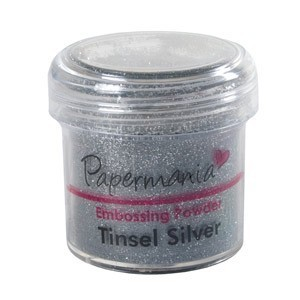 Docraft embossing poeder PMA4021011 tinsel silver