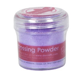 EMBOSSING POWDER 1 OZ LILAC - 28 Gram