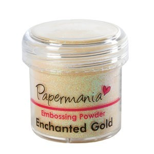 EMBOSSING POWDER 1 OZ ENCHANTED GOLD - 28 Gram