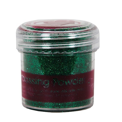 EMBOSSING POWDER 1 OZ TINSEL GREEN
