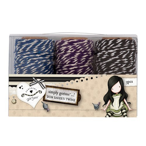 20m Bakers Twine (3pcs) - Gorjuss