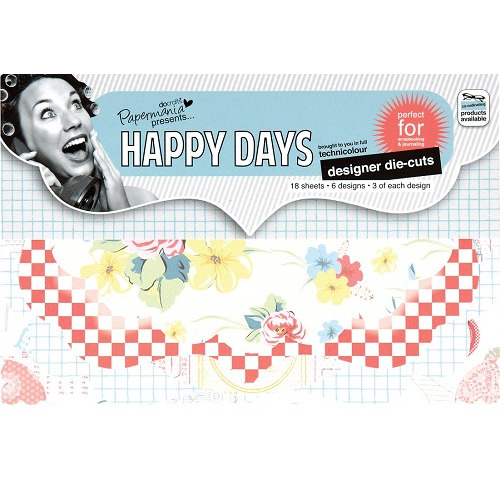Happy Days Designer Die Cuts