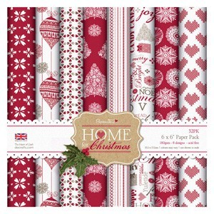 6x6 Paper Pack - Home for Christmas (32PK)