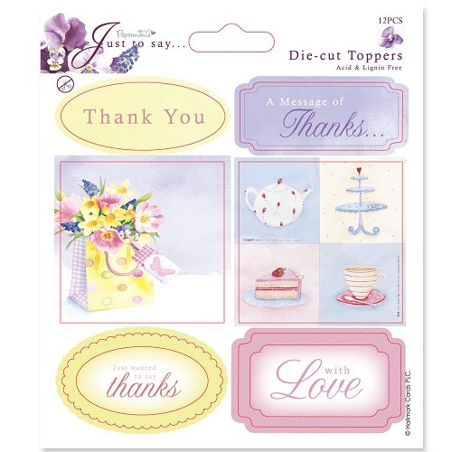 5x5 Toppers/Sentiments (2pk) Thanks/Thank You