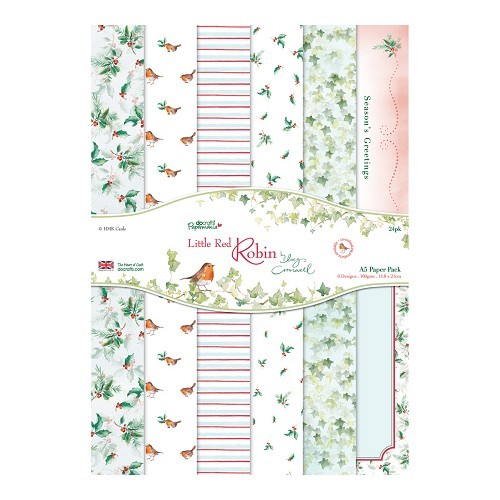 A5 Paper Pack (24pk) - Little Red Robin