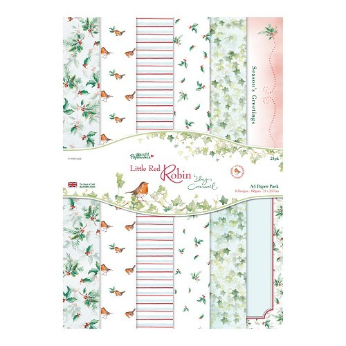 A4 Paper Pack (24pk) - Little Red Robin
