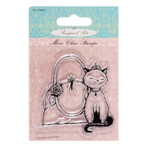 Mini clear stamps - Pampered Pets (princess)