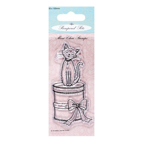 Mini clear stamps - Pampered Pets (sitting pretty)