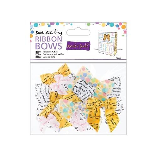Ribbon Bows (12pcs) - Roald Dahl - Bunk-doodling