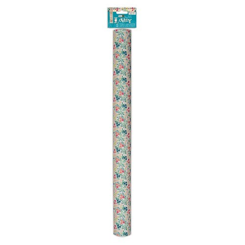 Adhesive Fabric Paper Roll - Sew Lovely - Floral
