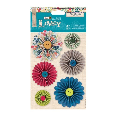 Pin Wheels (6pcs) - Sew Lovely