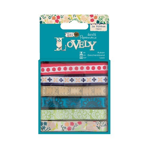 1m Ribbon (6pcs) - Sew Lovely