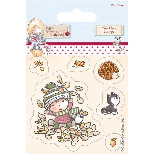 75 x 75mm Mini Clear Stamp - Tilly Daydream - Terry