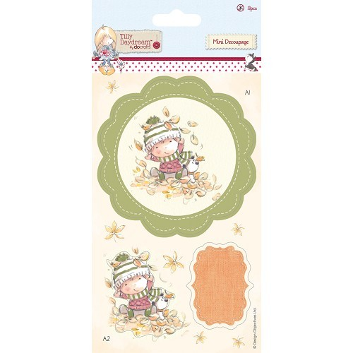 Mini Decoupage (13pcs) - Tilly Daydream - Terry