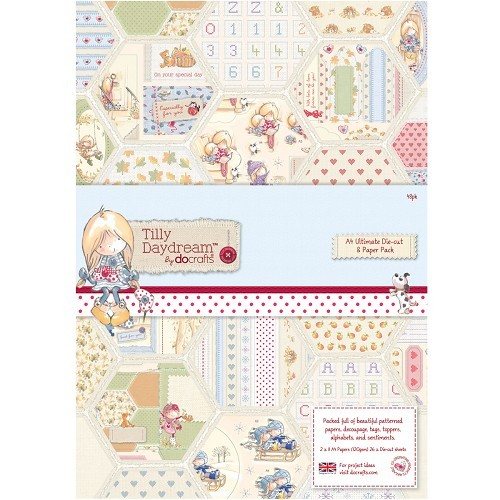 A4 Ultimate Die-cut & Paper Pack (48pk) - Tilly Daydream