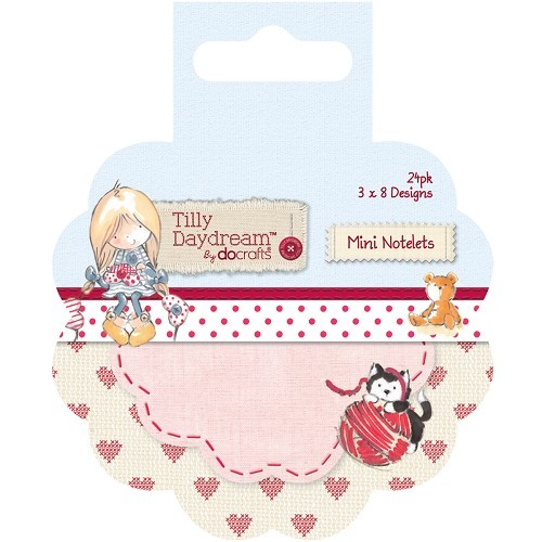 Mini Round Notelets (24pk) - Tilly Daydream