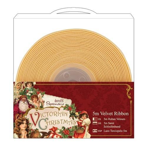 5m Velvet Ribbon (1pcs) - Victorian Christmas
