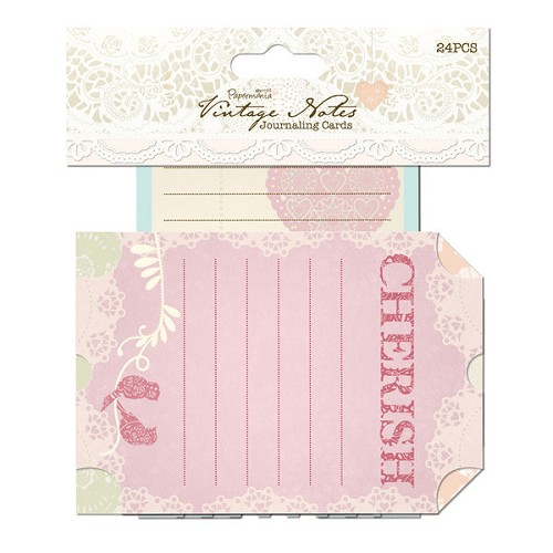 Journaling Cards (24pcs) - Vintage Notes
