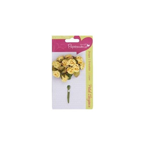 Petal posy (12pcs) - lemon rose