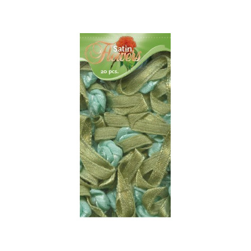 Satin Flowers - Mint
