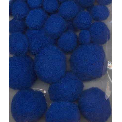 Mix PomPom set (50st) blue