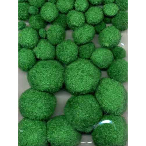 Mix Pom Poms Set Groen