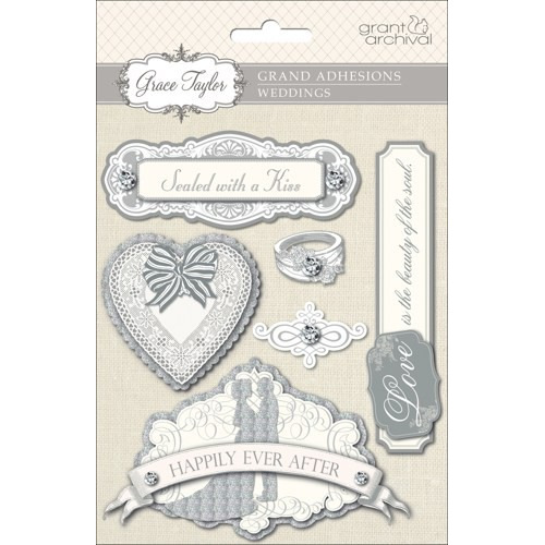 Grace Taylor Wedding Grand Adhesions 3D Embellishment Discontinu