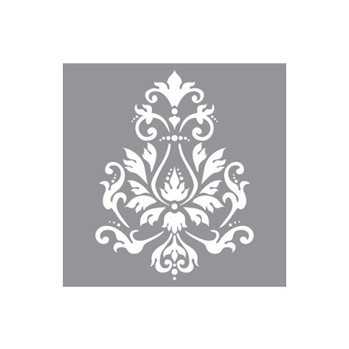Decor Stencil Brocade Motif ? ADS01