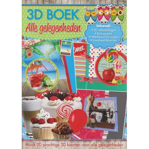 Alle Gelegenheden  3D Boek - A4-Medium