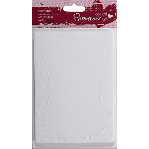 Papermania Elements Classic Cards & Envelopes - Elegant Frame